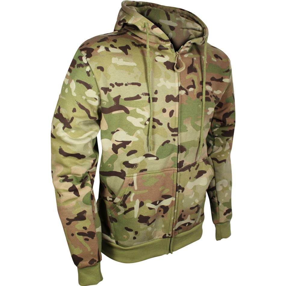 Viper Tactical Zipped Hoodie Jacket Sweatshirt Hoody Military Style Coyote Tan