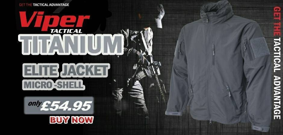 Viper Tactical Titanium Jacket