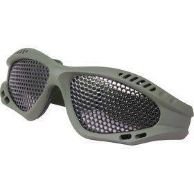 Green Mesh Glasses
